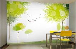 背景墙打印样品图